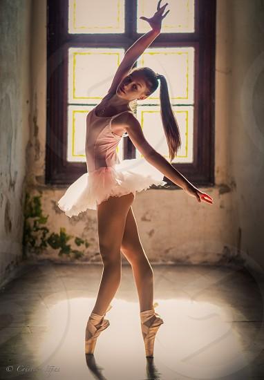 balletdancedancergirlyouthyounggracenatural lightwindow photo
