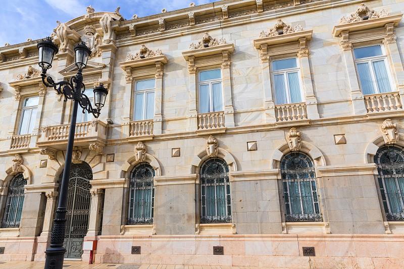 Ayuntamiento de Cartagena city hall at Murcia Spain photo