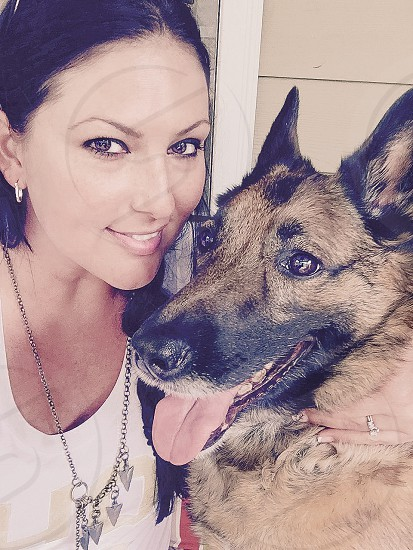 PICS OF PETS | Heidi our Belgian Malinois Shepherd one of the best dogs ever to love!!!   photo