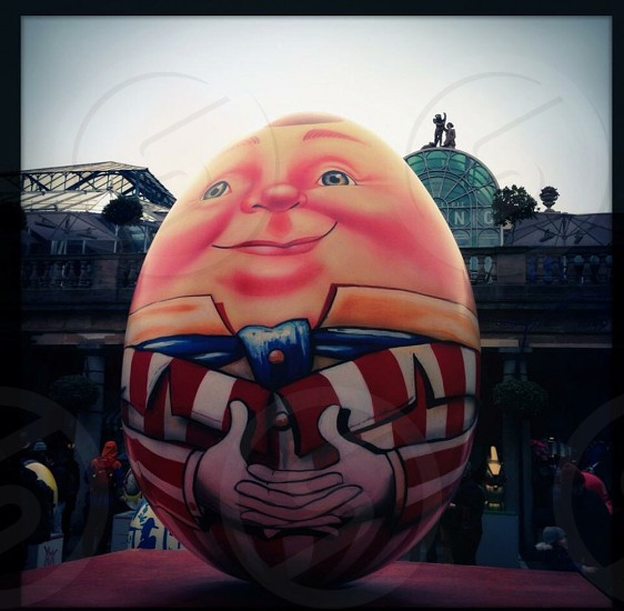 Humpty Egg. The Big Egg Hunt London photo