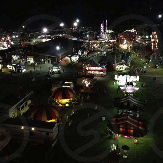 state fair rides photo