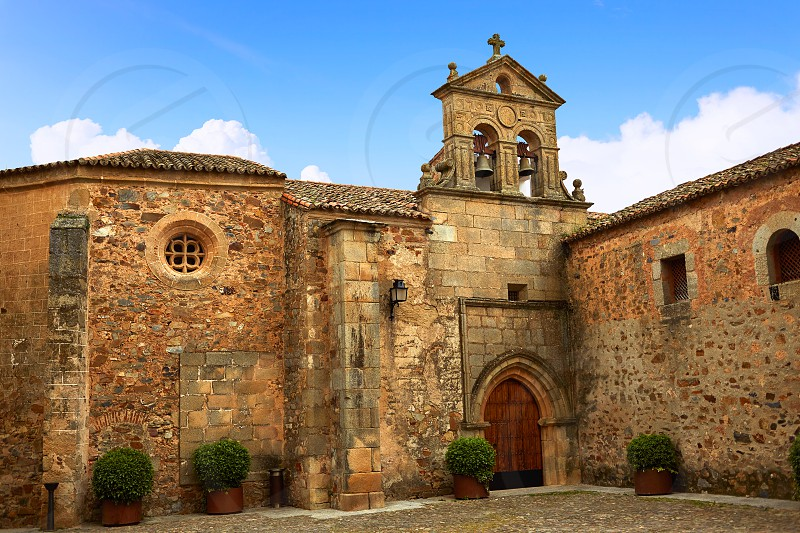 Caceres St Paul convent in Spain Extremadura Convento de San Pablo photo