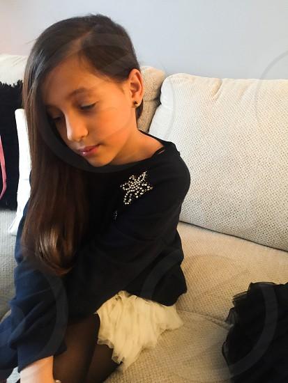 Girl 9 age  photo