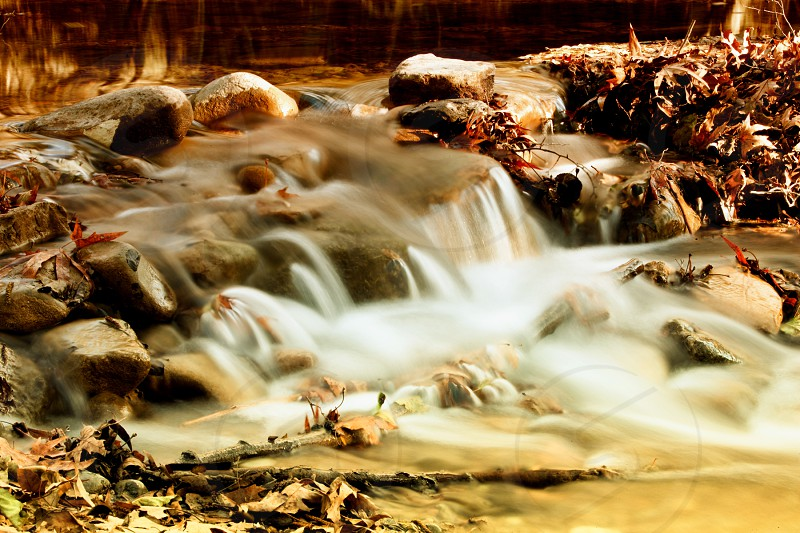 Water river fairytale background photo