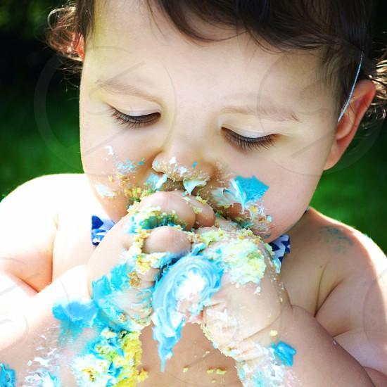 Let him eat cake! photo