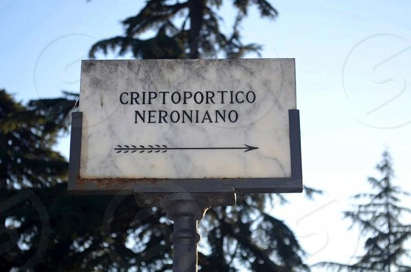 criptoportico ceroniani board photo
