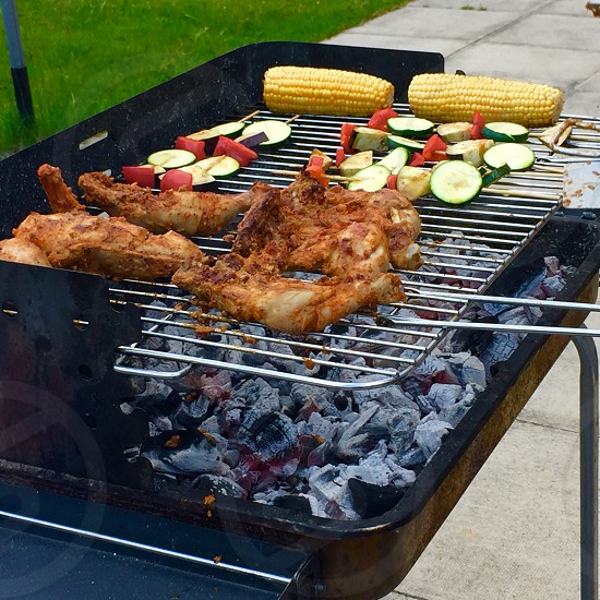 Summer barbecue  photo