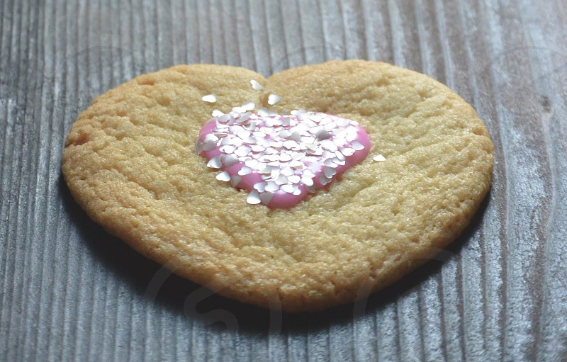Cookies Hearts Glitter Valentines  photo