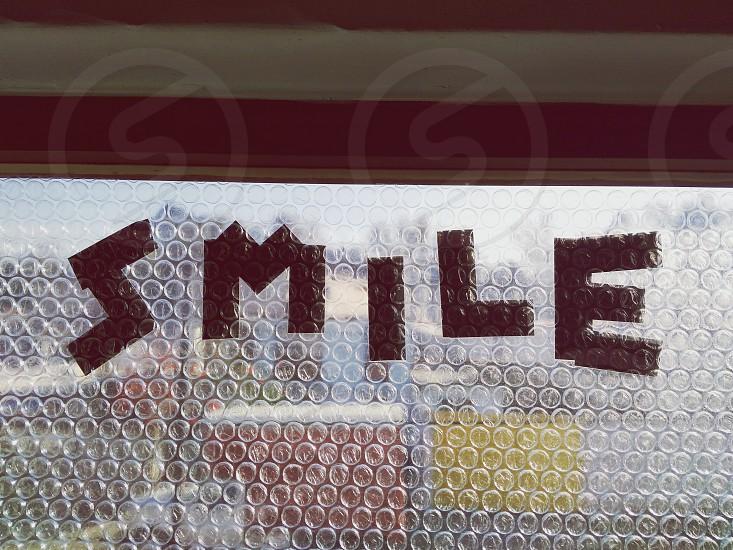 Smile bubble time photo