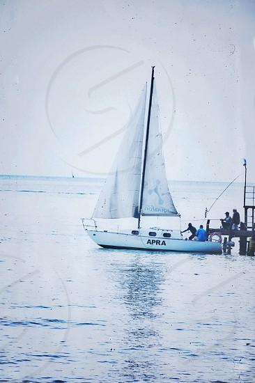 apra white boat photo