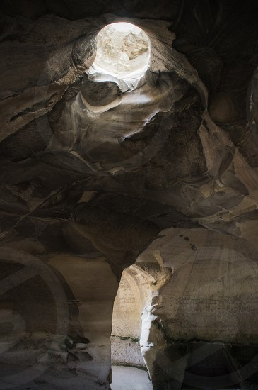 Beit Guvrin caves Israel. photo