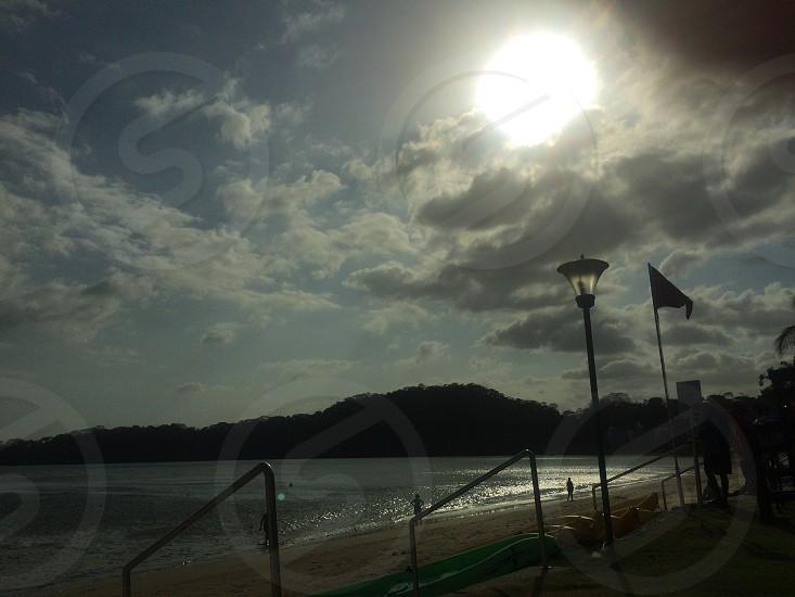 Panamabeachplayaseasunclouds photo
