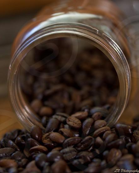Mason Jar of Coffee. photo