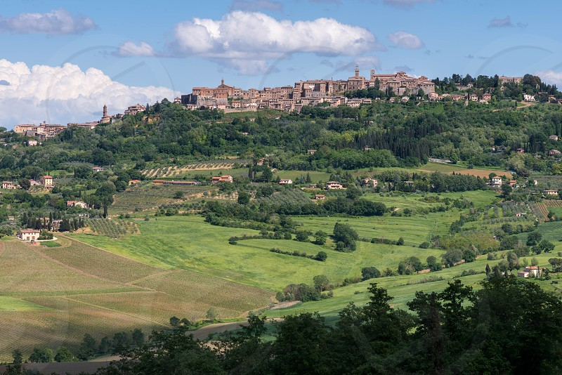 View of Montepulciano photo