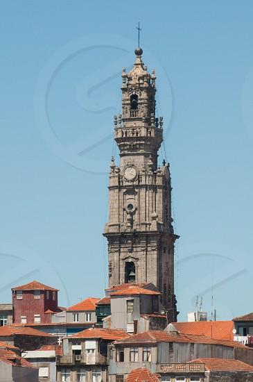 Clérigos Church view Porto. photo