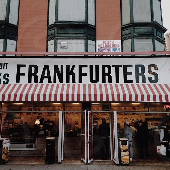 frankfurters store photo