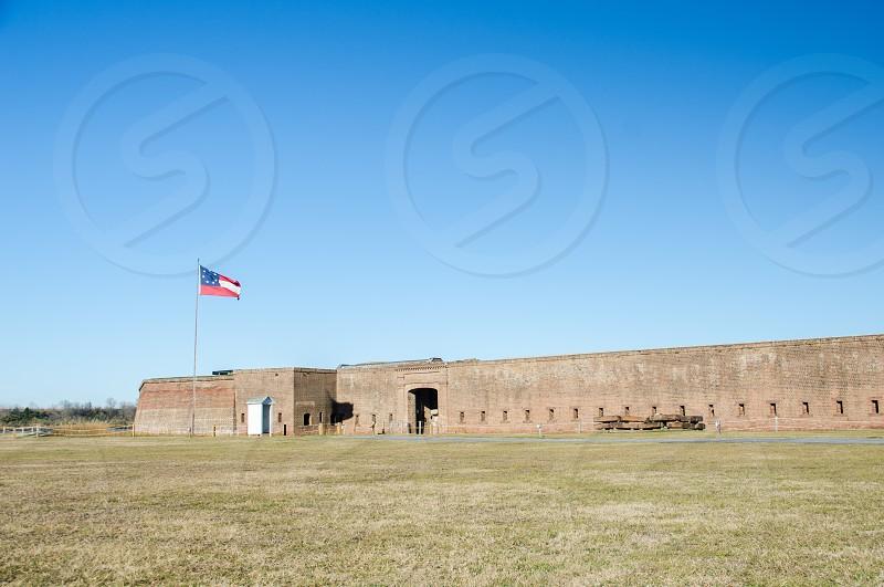 Fort James Jackson Savannah Georgia photo