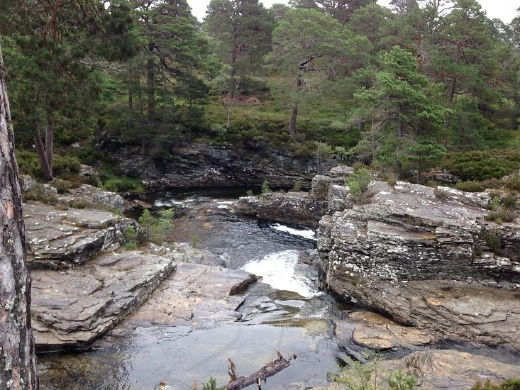 Scottish countryside  photo