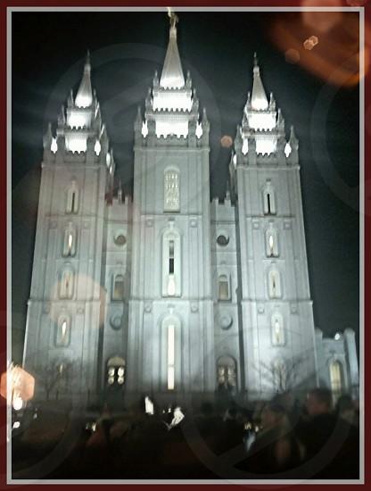 Salt Lake City Utah Mormon Temple photo