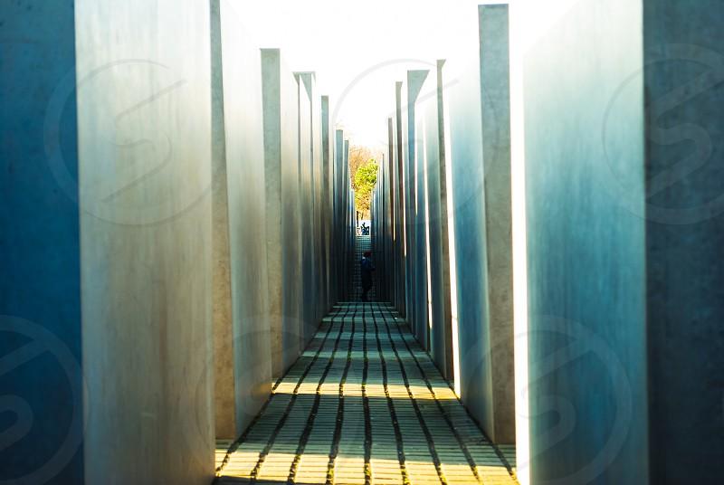 Holocaust Memorial in Berlin. photo