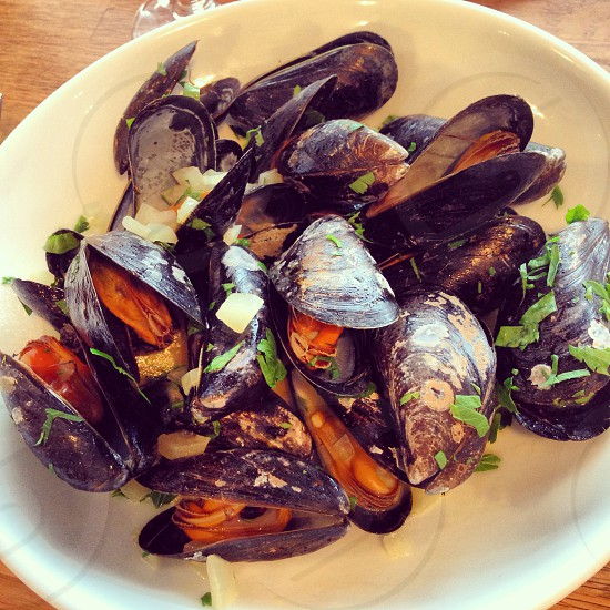 Moules cornish mussels Rick steins falmouth photo