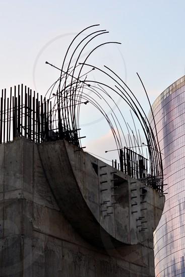 Bridge Construction. São Paulo SP Brazil. photo