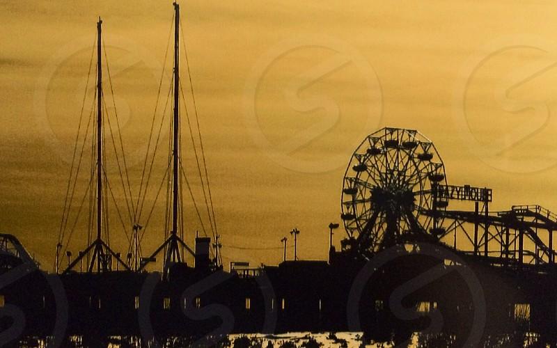 Atlantic City New Jersey Amusement Pier October 2008 photo