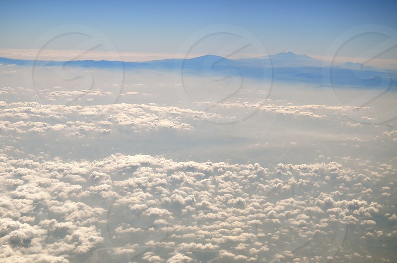 white clouds photo