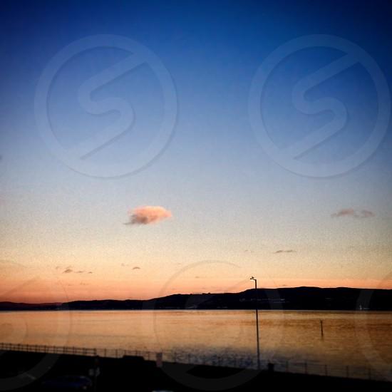 Dunoon Scotland landscape water sunset photo