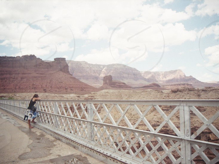 Navajo Bridge Marble Canyon Grand Canyon Park Arizona USA photo