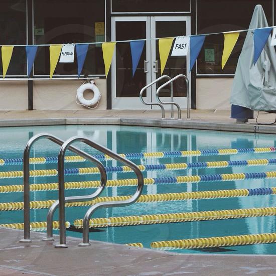 Public swimming pool photo