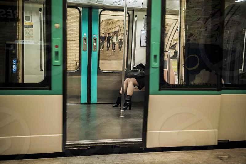 Paris metro photo