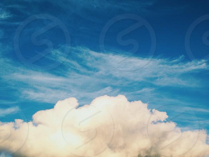 California Clouds.  photo