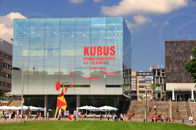 Stuttgart Museum Kunstmuseum Koenigsstrasse photo