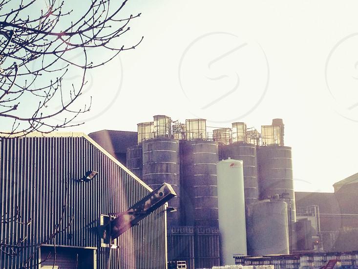 Brewery silos photo