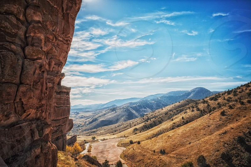 Colorado Red Rocks mountains hiking outdoors travel camping destination vacation. landscape nature photo
