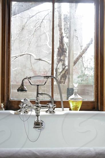 bath tub faucet photo