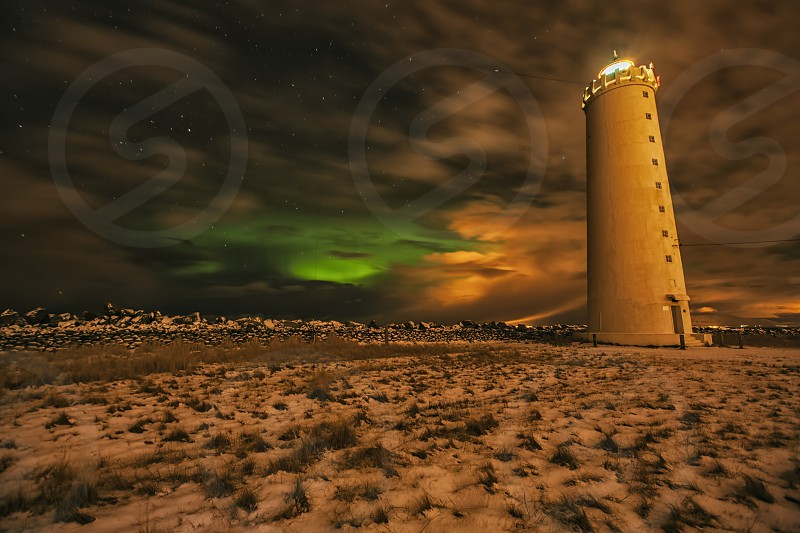 Lighthouse in Iceland  photo