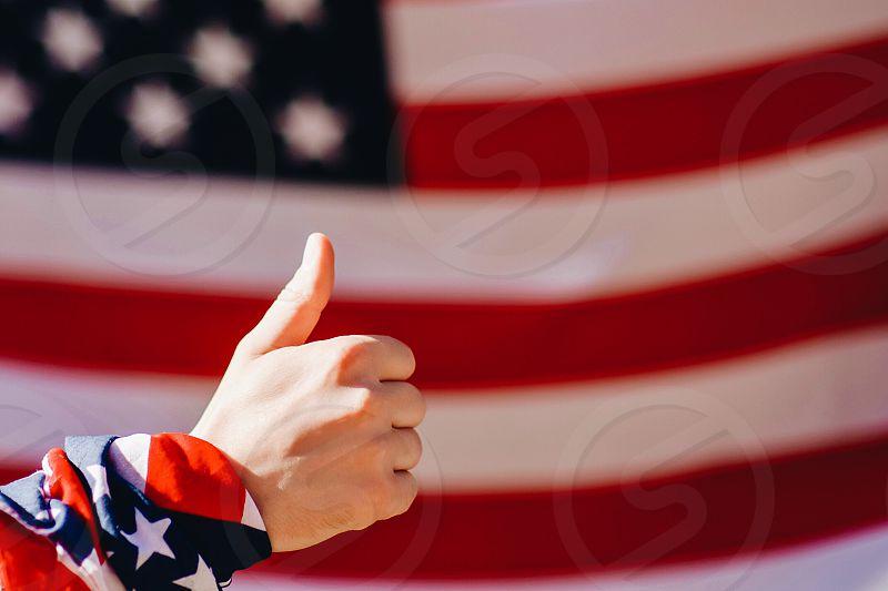 flag america united states patriot photo