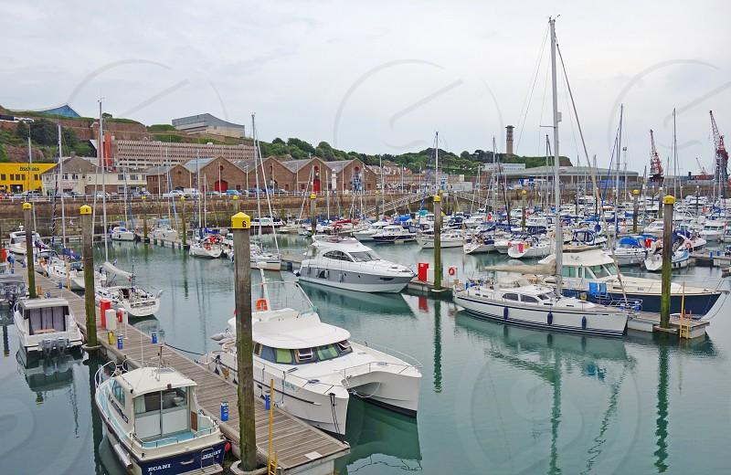 Saint-Helier in Jersey Channel Islands photo