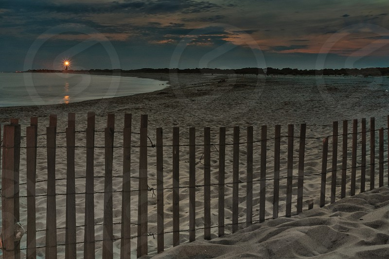 Dusk at the cove in Cape May NJ photo